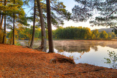 Colorful scenic Landscape in HDR Stock Photography