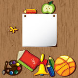 Colorful school background Royalty Free Stock Photo