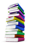 Colorful School Books Stock Photo
