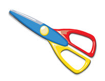 Colorful scissors Stock Photography