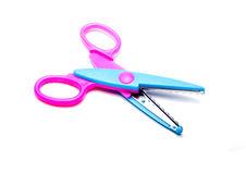 Colorful scissors Royalty Free Stock Image