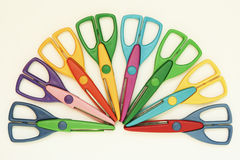 Colorful scissors Royalty Free Stock Photos
