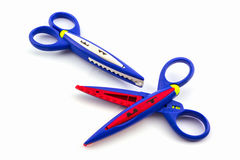 Colorful of scissors. Stock Images