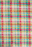 Colorful scot fabric. Colorful scot pattern fabric background Stock Photo