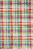 Colorful scot fabric Stock Photo