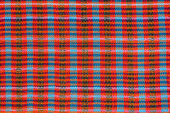 Colorful scott and line fabric texture Stock Images
