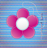 Colorful scrapbook with flower. Stock Images