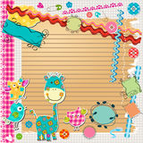 Scrapbook kit Stock Photo
