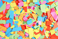 Colorful scraps Royalty Free Stock Image