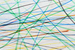 Colorful scribble background. Scribble drawing with colorful lines suitable for background stock photo