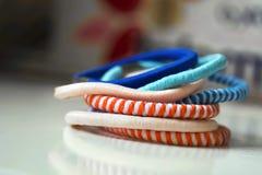 Colorful scrunchy Stock Photos