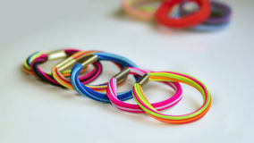 Colorful scrunchy Stock Photography