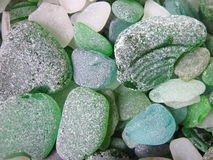 Colorful sea glass pattern royalty free stock photography