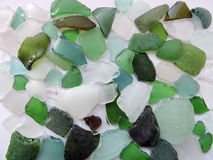 Colorful sea glass pattern stock images