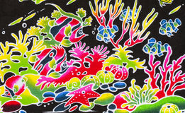 Colorful sea life Stock Images