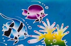 Colorful sea life Stock Photo