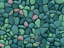 Colorful sea stones background Stock Photos