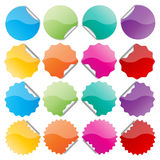 Colorful seals Royalty Free Stock Images