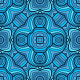 Colorful seamless abstract hand-drawn pattern Royalty Free Stock Photos