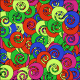 Colorful seamless abstract pattern Stock Photography