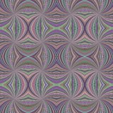 Colorful seamless abstract psychedelic swirl stripe pattern background. Vector burst graphic design royalty free illustration