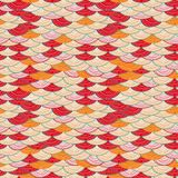 Colorful Seamless Abstract Wave Pattern Stock Photo