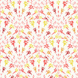 Colorful Seamless Background With Firecracker Royalty Free Stock Photography