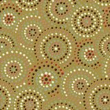 Colorful seamless circles pattern Stock Photography