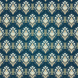 Colorful  seamless damask Stock Images