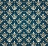 Colorful  seamless damask Royalty Free Stock Photo