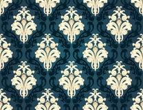 Colorful  seamless damask Royalty Free Stock Image