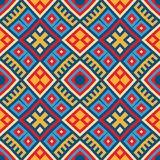 Colorful Seamless Ethnic Pattern Background Royalty Free Stock Image