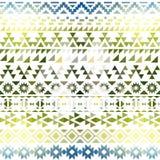 Colorful seamless ethnic pattern. Vector illustration stock illustration