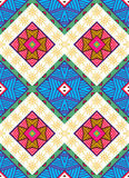Colorful seamless ethnic pattern. Vector illustration Stock Images