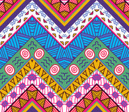 Colorful seamless ethnic pattern. Vector illustration Royalty Free Stock Image