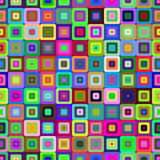 Colorful seamless figures pattern. Royalty Free Stock Photos