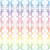 Colorful seamless floral pattern Royalty Free Stock Image