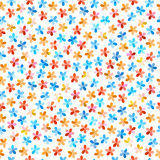 Colorful seamless floral pattern Royalty Free Stock Photo