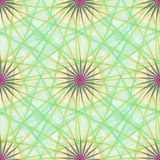 Colorful seamless fractal design pattern Stock Photos