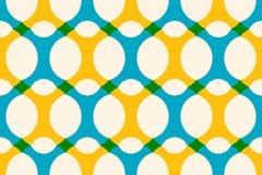Colorful seamless geometric pattern royalty free illustration