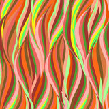 Colorful seamless herbal pattern. Vector background. Stock Images