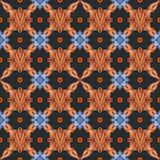 Colorful seamless ornamental pattern background Royalty Free Stock Photo