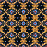Colorful seamless ornamental pattern background Stock Images