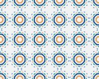 Colorful seamless ornamental pattern Stock Photography