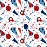 Party Background Pattern Stock Photo