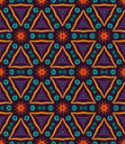 Colorful seamless patten Stock Images