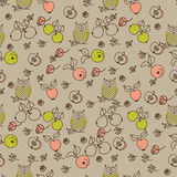 Colorful seamless pattern Royalty Free Stock Images