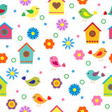 Colorful seamless pattern Stock Photography
