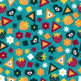 Colorful seamless pattern vector illustration