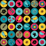 Colorful seamless pattern Royalty Free Stock Image